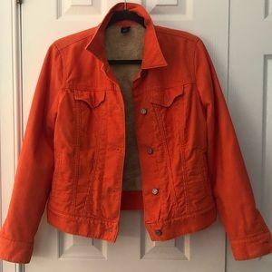 GAP Orange Corduroy Jacket